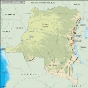 congodemocratic_topographical vector map