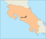 costarica_blankmap vector map