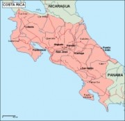 costarica_geography vector map