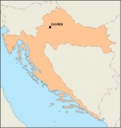 croatia_blankmap vector map