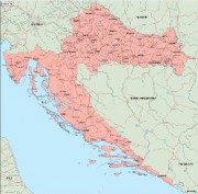 croatia_geography vector map