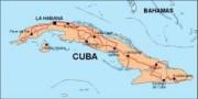 cuba_countrymap vector map