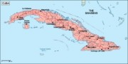 cuba_geography vector map