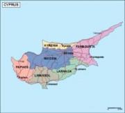 cyprus_politica vector map