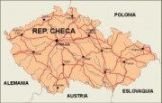 czechrep_countrymap vector map