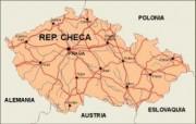 czechrep_countrymap vector map