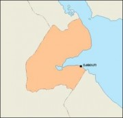 djibouti_blankmap vector map