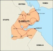 djibouti_countrymap vector map