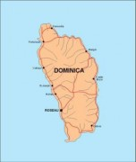 dominica_countrymap vector map