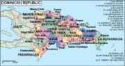 dominicana_political vector map