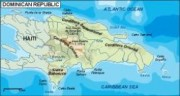 dominicana_topographical vector map