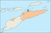 easttimor_blankmap vector map