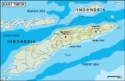 easttimor_topographical vector map