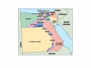 egypt powerpoint map