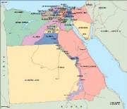 egypt_political vector map