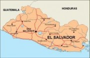 elsalvador_countrymap vector map