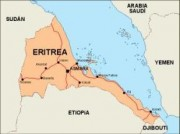 eritrea_countrymap vector map