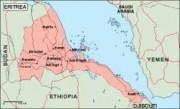 eritrea_geography vector map