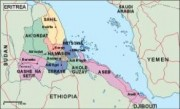 eritrea_political vector map