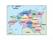 estonia powerpoint map