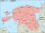 estonia_geography vector map