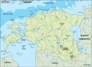 estonia_topographical vector map