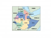 ethiopia powerpoint map