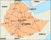 ethiopia_countrymap vector map