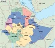 ethiopia_political vector map