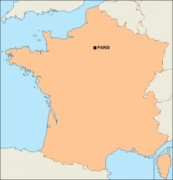 france_blankmap vector map