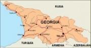 georgia_countrymap vector map