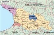 georgia_political vector map
