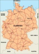 germany_countrymap vector map
