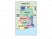 ghana powerpoint map