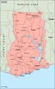 ghana_geography vector map