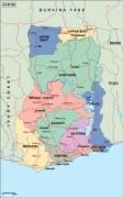 ghana_political vector map