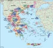 greece vector map