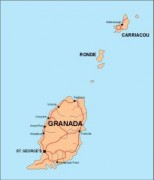 grenada_countrymap vector map