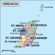 grenada_political vector map