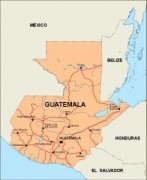 guatemala_countrymap vector map