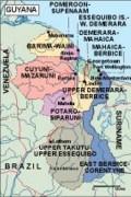 guyana_political vector map