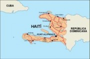 haiti_countrymap vector map