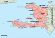 haiti_geography vector map