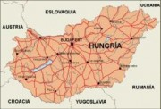 hungary vector map