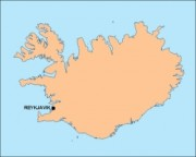 iceland_blankmap vector map