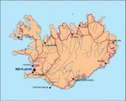 iceland_countrymap vector map
