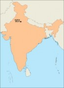 india_blankmap vector map