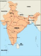 india_countrymap vector map
