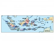 indonesia powerpoint map