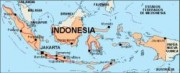 indonesia_countrymap vector map
